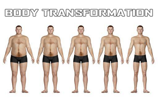 Body Transformation Fat 2 Skinny - Healthy Fitness Workouts