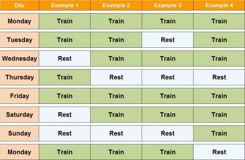 Frequency of Workouts - Healthy Fitness Exercises Train Rest Abs