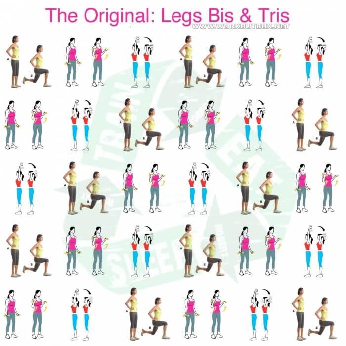 The Original Legs Bis & Tris - Healthy Fitness Workouts Leg Butt