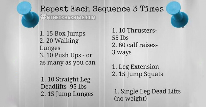 Good Morning Workout - Repeat Each Sequence 3 Times Healthy Fit
