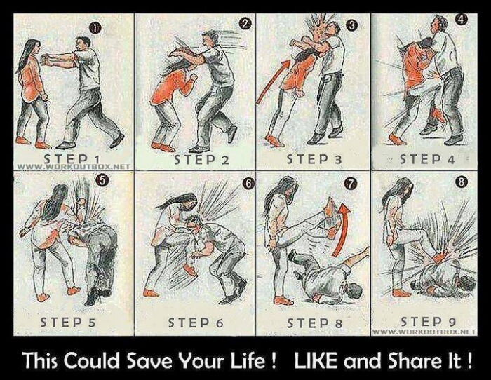 Self Defense: This Could Save Your Life! Healthy Fitness Workout
