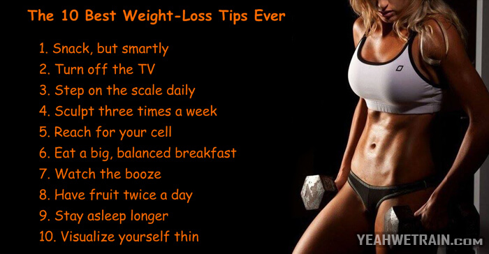 The 10 Best Weight-Loss Tips Ever - Healthy Fitness Workout Eat