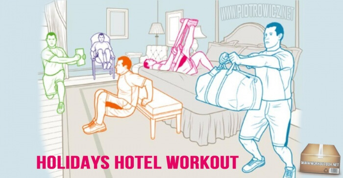 Holidays Hotel Workout - Healthy Training Arms Core Sixpack Ab