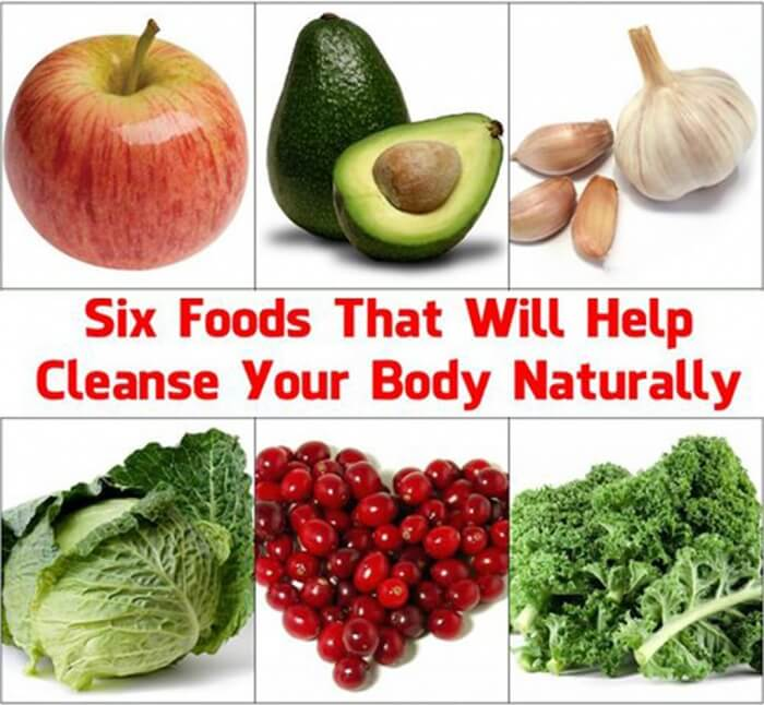 Six Foods That Will Help Cleanse Your Body Naturally! Apple Kale