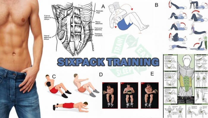 Sixpack Training - Healthy Fitness Workout Ab Core Upper Body
