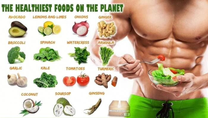 The Healthiest Foods On The Planet - Fitness Healthy Food Info