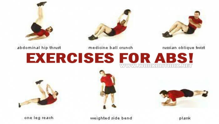 Exercises For Abs ! Healthy Fitness Sixpack Workout Training Ab