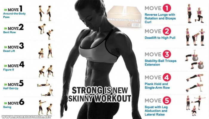 Strong Is New Skinny Workout - Be Fit And Train Your Sexy Body !
