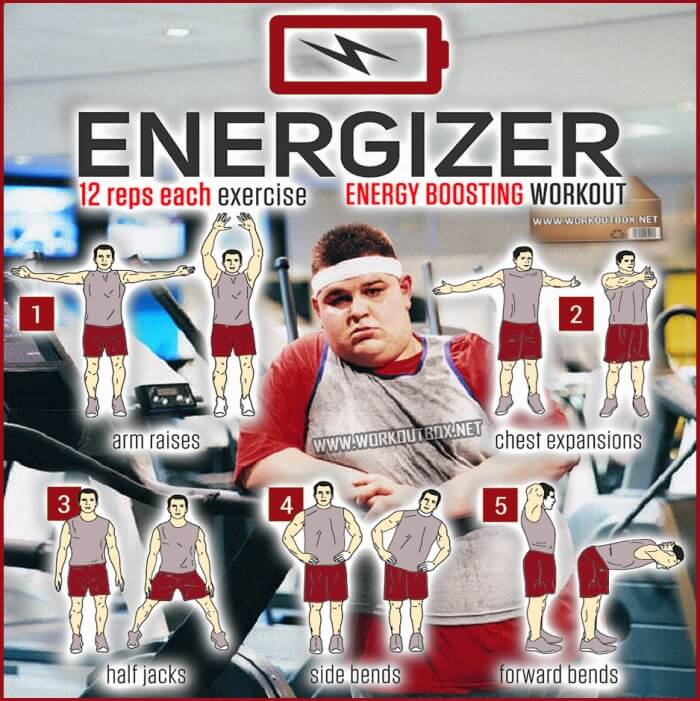 Energizer Training - Energy Boosting Workout To Be Fit & Strong