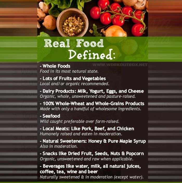 Real Food Defined - Seafood Healthy Fitness Tips Tricks Plans Ab