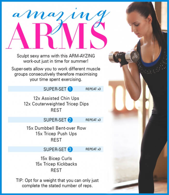 Amazing Arms Workout - Healthy Fitness Training For Strong Body