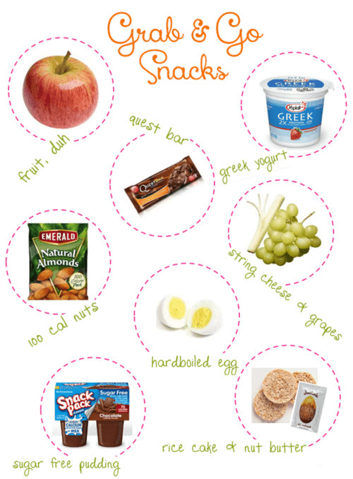 Healthy Fitness Grab & Go Snacks! Great Small Food You Cant Miss