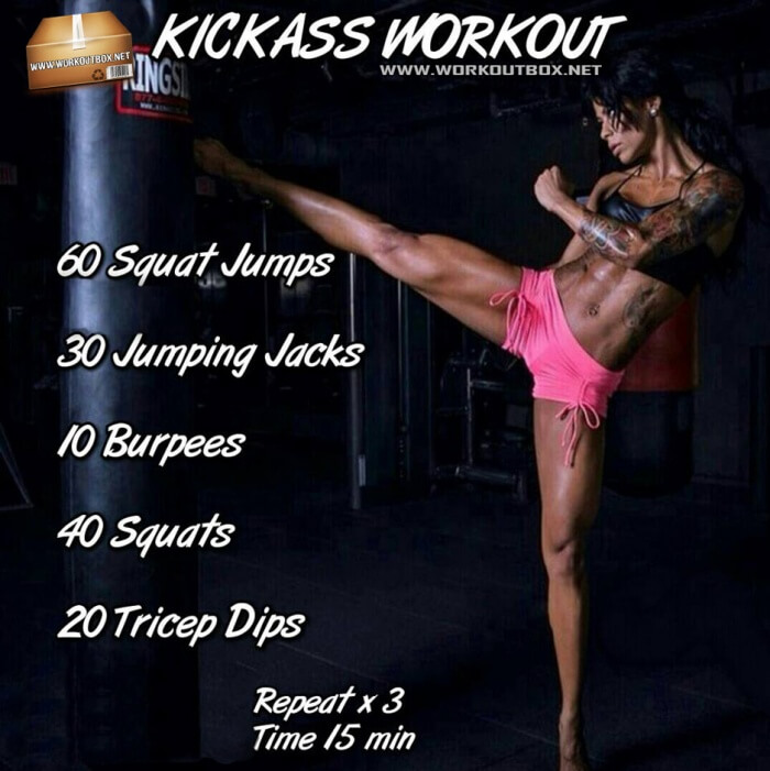 Kickass Workout ! Hardcore Badass Training Plan For Strong Body