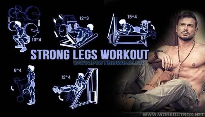 Strong Legs Workout Plan - Hardcore Leg Training Routine Butt Ab