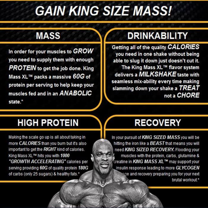 Gain King Size Mass - Hardcore Ronnie Coleman Bodybuilder Tips
