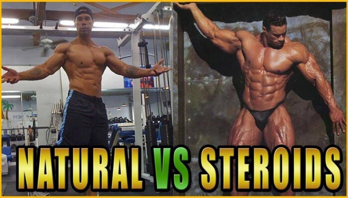 Natural Vs Steroids - What Do You Think About ? Comment Below !
