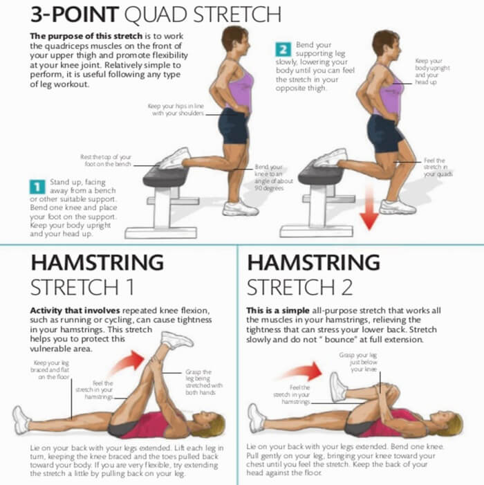 How To Stretch Part 3 ! Step By Step - Healthy Fitness Tips Plan
