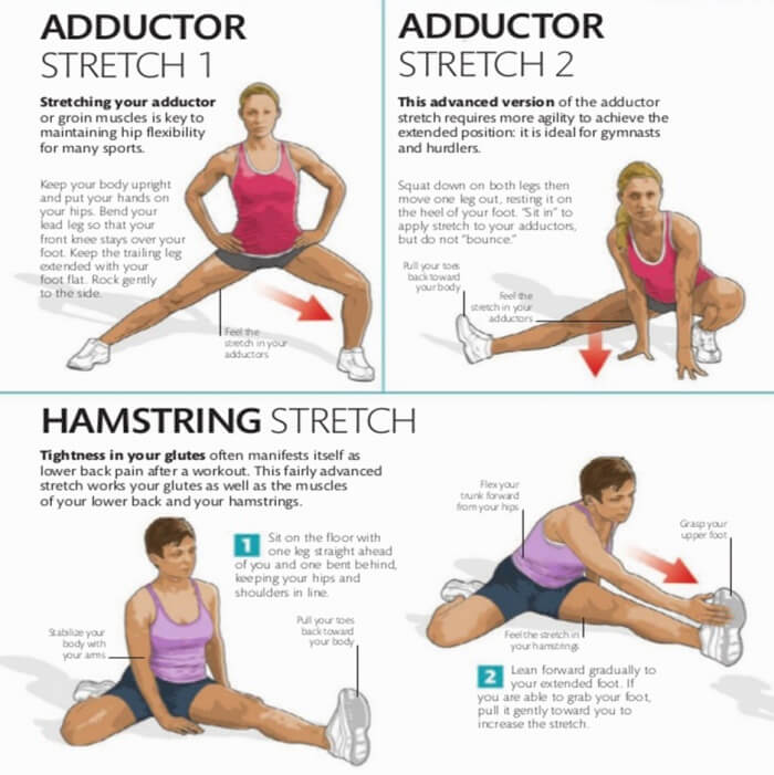 How To Stretch Part 5 ! Step By Step - Healthy Fitness Tips Plan